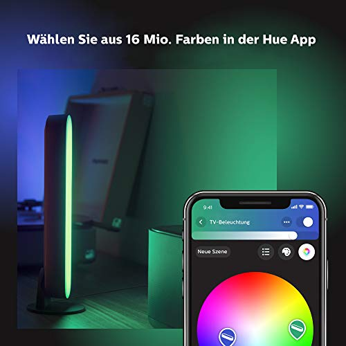 Philips Hue White and Color Ambiance Play Lightbar Doppelpack - 6