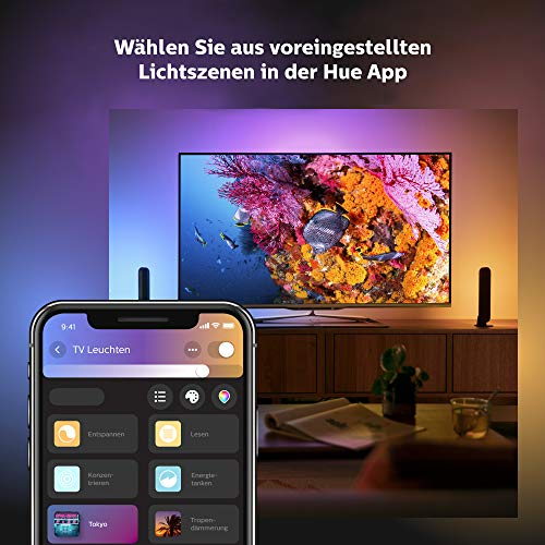 Philips Hue White and Color Ambiance Play Lightbar Doppelpack - 8